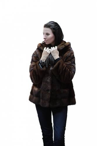 меховая куртка из норки, куртка норковая.